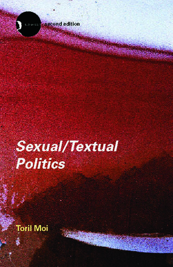 Sexual/Textual Politics Feminist Literary Theory book cover