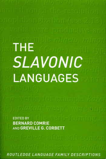 The Slavonic Languages book cover