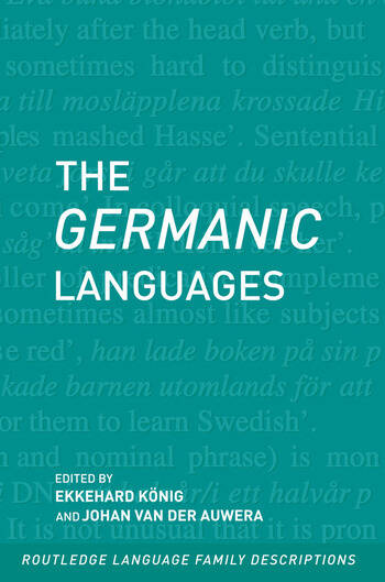 The Germanic Languages book cover