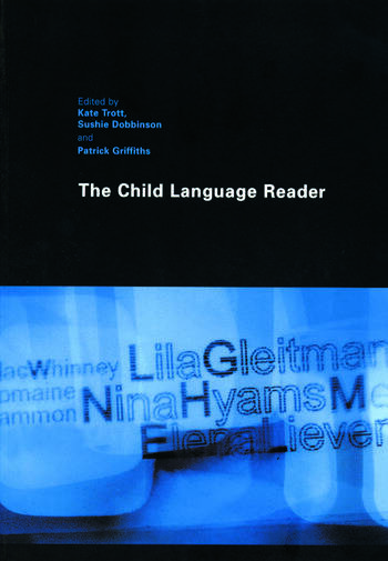The Child Language Reader book cover