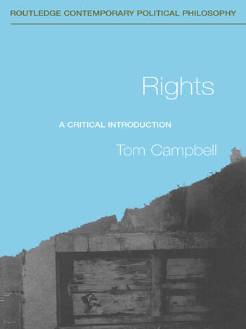 Rights A Critical Introduction book cover