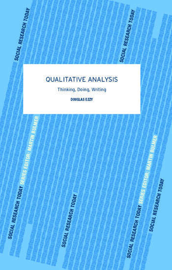 Qualitative Analysis book cover