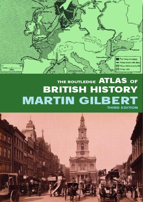 The Routledge Atlas of British History book cover