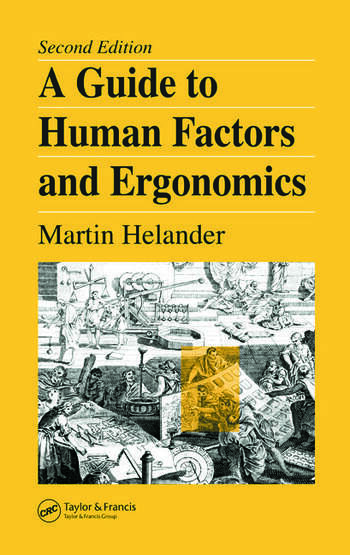A Guide to Human Factors and Ergonomics book cover