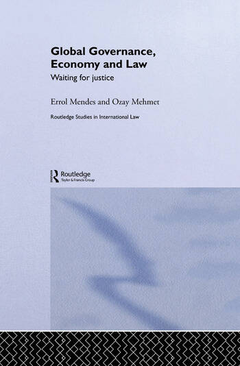 Global Governance, Economy and Law Waiting for Justice book cover