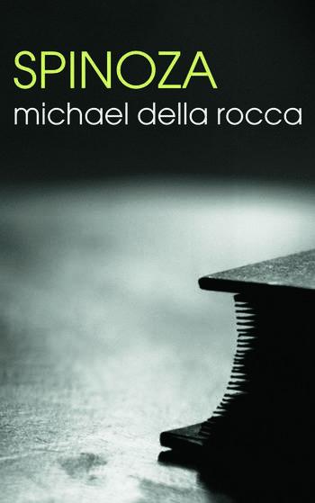 Spinoza book cover