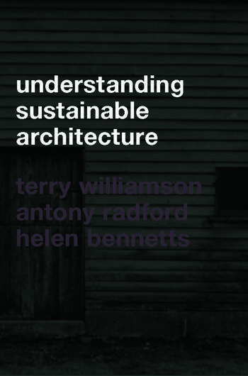 Understanding Sustainable Architecture book cover