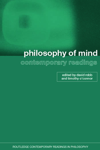 Philosophy of Mind: Contemporary Readings book cover