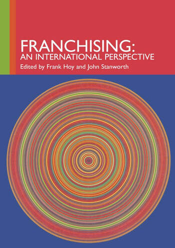 Franchising An International Perspective book cover