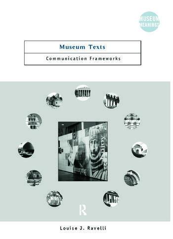Museum Texts Comunication Frameworks book cover