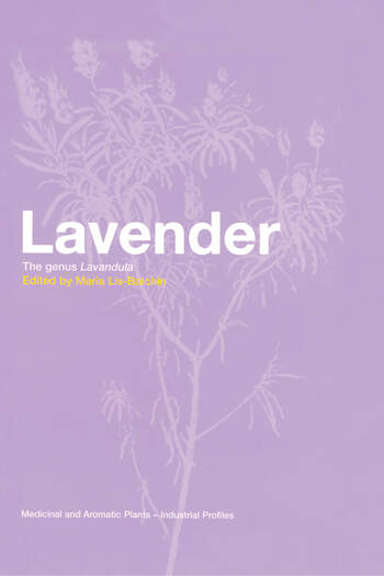 Lavender The Genus Lavandula book cover