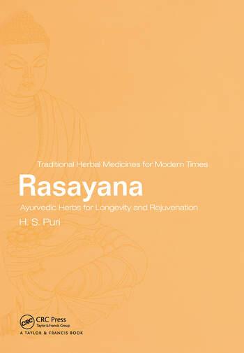 Rasayana Ayurvedic Herbs for Longevity and Rejuvenation book cover
