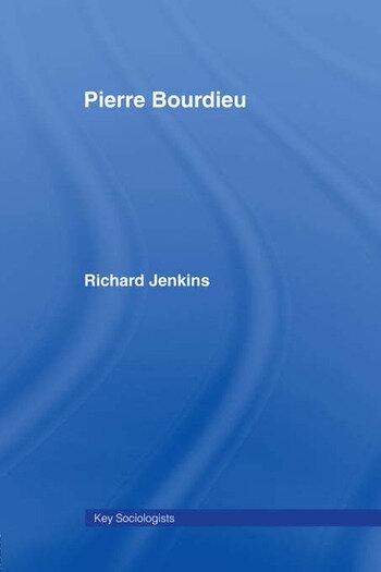 Pierre Bourdieu book cover