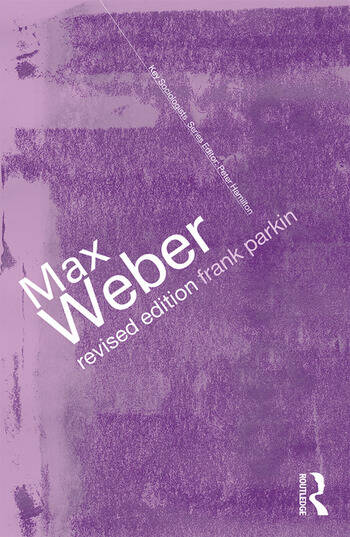 Max Weber The Lawyer as Social Thinker book cover