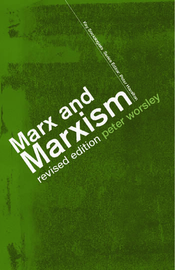 Marx and Marxism book cover