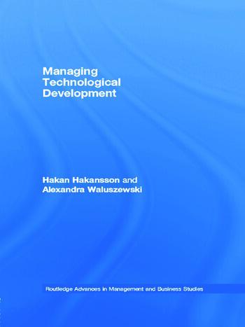 Managing Technological Development book cover