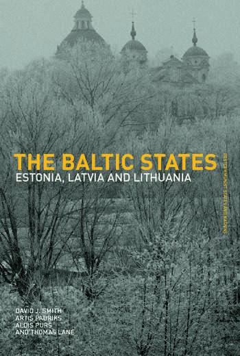 The Baltic States Estonia, Latvia and Lithuania book cover