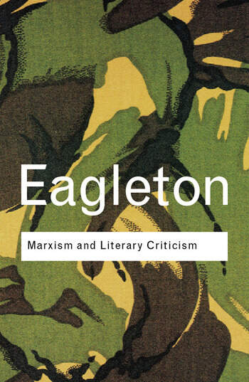 Marxism and Literary Criticism book cover