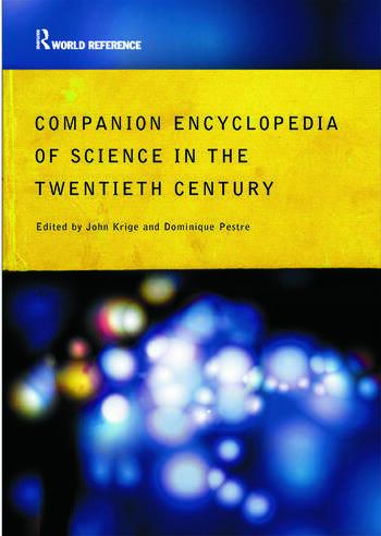 Companion Encyclopedia of Science in the Twentieth Century book cover