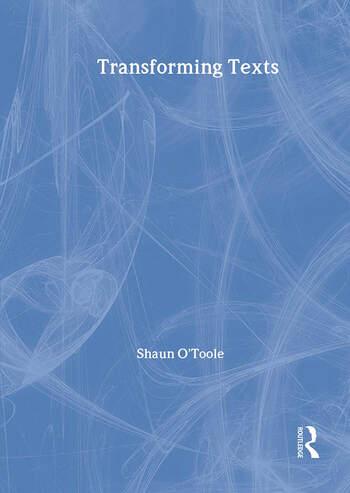 Transforming Texts book cover