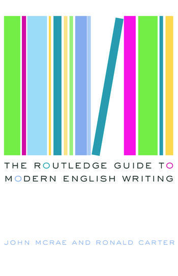 The Routledge Guide to Modern English Writing book cover