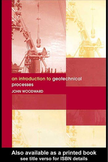 An Introduction to Geotechnical Processes book cover