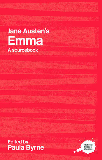 Jane Austen's Emma A Routledge Study Guide and Sourcebook book cover