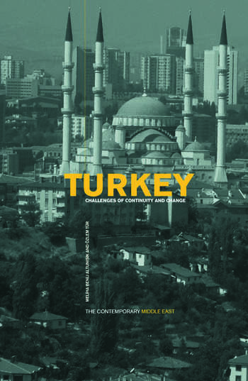 Turkey Challenges of Continuity and Change book cover