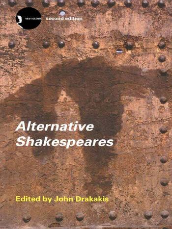 Alternative Shakespeares book cover