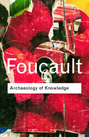 Archaeology of Knowledge book cover