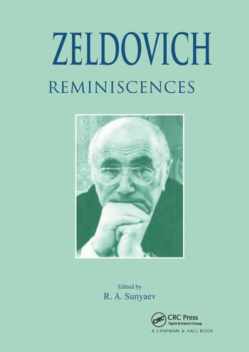 Zeldovich Reminiscences book cover