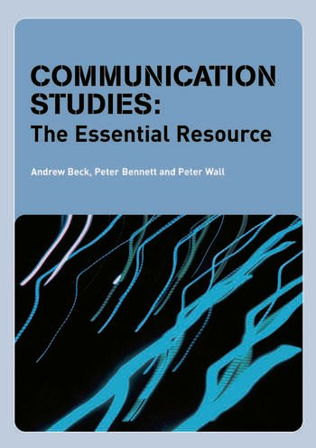 Communication Studies The Essential Resource book cover