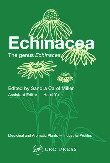 Echinacea The genus Echinacea book cover