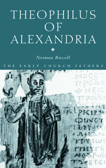 Theophilus of Alexandria book cover