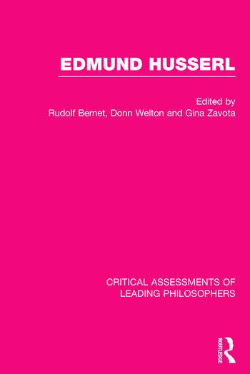Edmund Husserl book cover