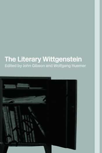 The Literary Wittgenstein book cover