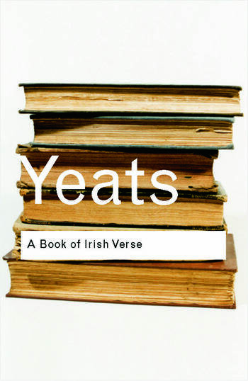 A Book of Irish Verse book cover