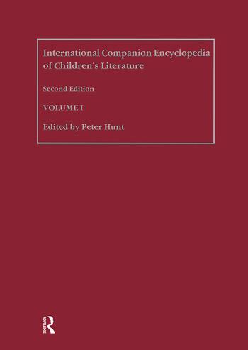 International Companion Encyclopedia of Children's Literature book cover