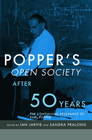 Popper's Open Society After Fifty Years book cover
