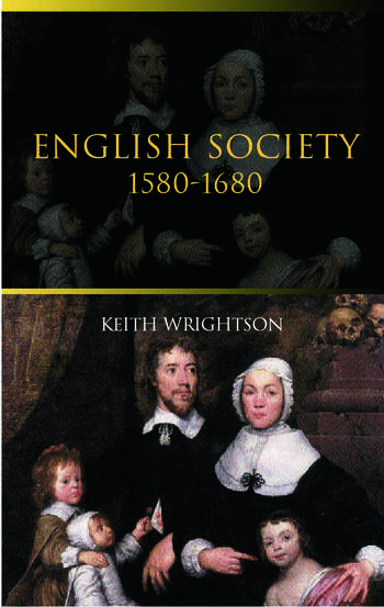 English Society 1580–1680 book cover