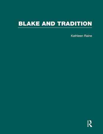 Blake & Tradition V1 book cover