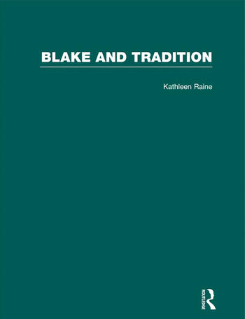 Blake & Tradition V2 book cover