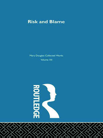 Risk and Blame book cover