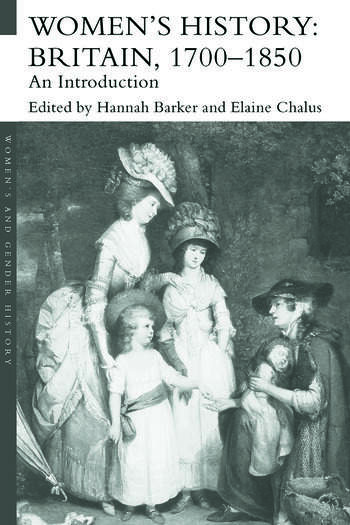Women's History, Britain 1700-1850 An Introduction book cover