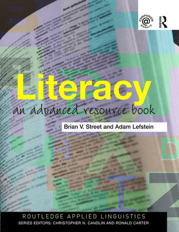 Literacy An Advanced Resource Book for Students book cover