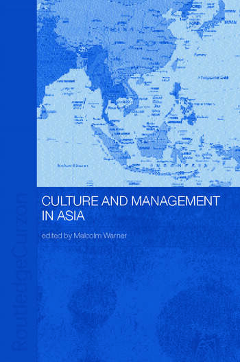 Culture and Management in Asia book cover