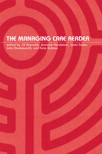 The Managing Care Reader book cover