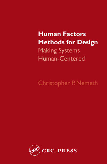 Human Factors Methods for Design Making Systems Human-Centered book cover