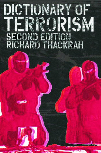 Dictionary of Terrorism book cover
