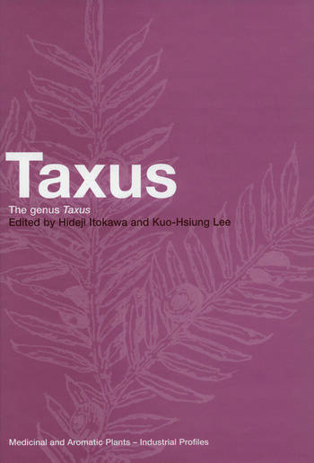 Taxus The Genus Taxus book cover